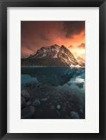 Framed Glacial Fire