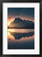 Framed Sub Zero Sunrise