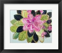 Framed Tropical Bloom