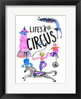 Framed Circus Fun IV