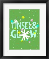 Framed Merry & Bright I