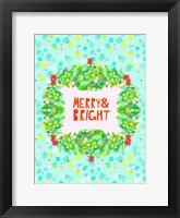 Framed Merry & Bright II