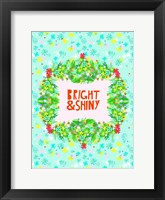 Framed Merry & Bright V