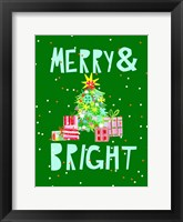 Framed Merry & Bright VI