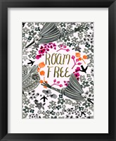 Roam Free VIII Framed Print
