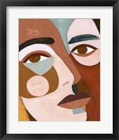 Framed Geo Face III