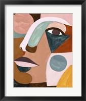 Framed Geo Face IV