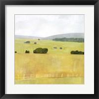 Framed Soft Fieldscape I