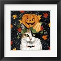 Framed Halloween Cat II