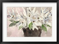 Framed Magnolia Watercolor Study I