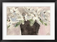 Framed Magnolia Watercolor Study II