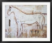 Framed Practical Horse Keeper