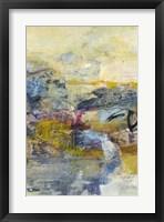 Framed Textured Triptych II