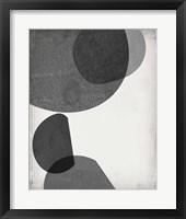 Framed Grey Shapes I