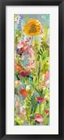 Framed Lime Garden II
