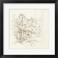Framed Architectural Accent IV