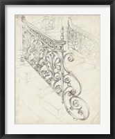 Framed Iron Railing Design I