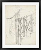 Framed Iron Railing Design II