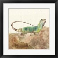 Framed Reptillian I