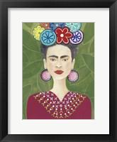 Framed Frida Floral II