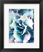 Framed Pastel Succulent Beauty I