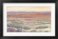 Framed High Desert Pastels II