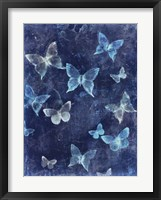 Framed Indigo Flight I