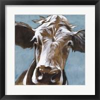 Framed Cow Kisses II