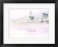 Framed Dawn Beach Break III