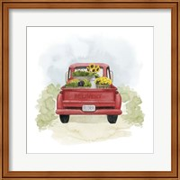 Framed Farm Flora I