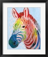 Framed Jungle Spectrum I