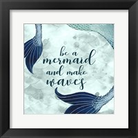 Framed Mermaid Inspirations I