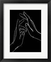 Framed Helping Hands II