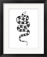 Framed Epidaurus Snake IV