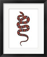 Framed Epidaurus Snake VI
