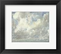 Framed Cloud Study, 1821