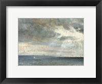 Framed Study of Sea and Sky