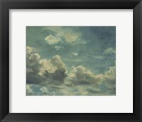 Framed Study of Cumulus Clouds