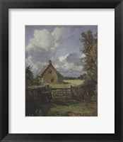 Framed Cottage in a Cornfield, 1833