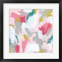 Framed Pink Scramble II
