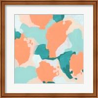 Framed Peach Fizz II