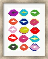 Framed Kiss Kiss II