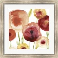 Framed Poppy Patch II