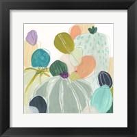 Framed Candy Cactus I