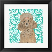 Parlor Pooches II Framed Print