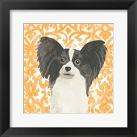 Parlor Pooches III Framed Print