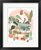 Framed Plant Lady Bath II