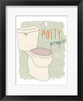 Framed Potty Pun IV