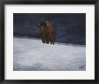 Framed Journey Through the Snow II