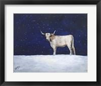 Framed Journey Through the Snow III